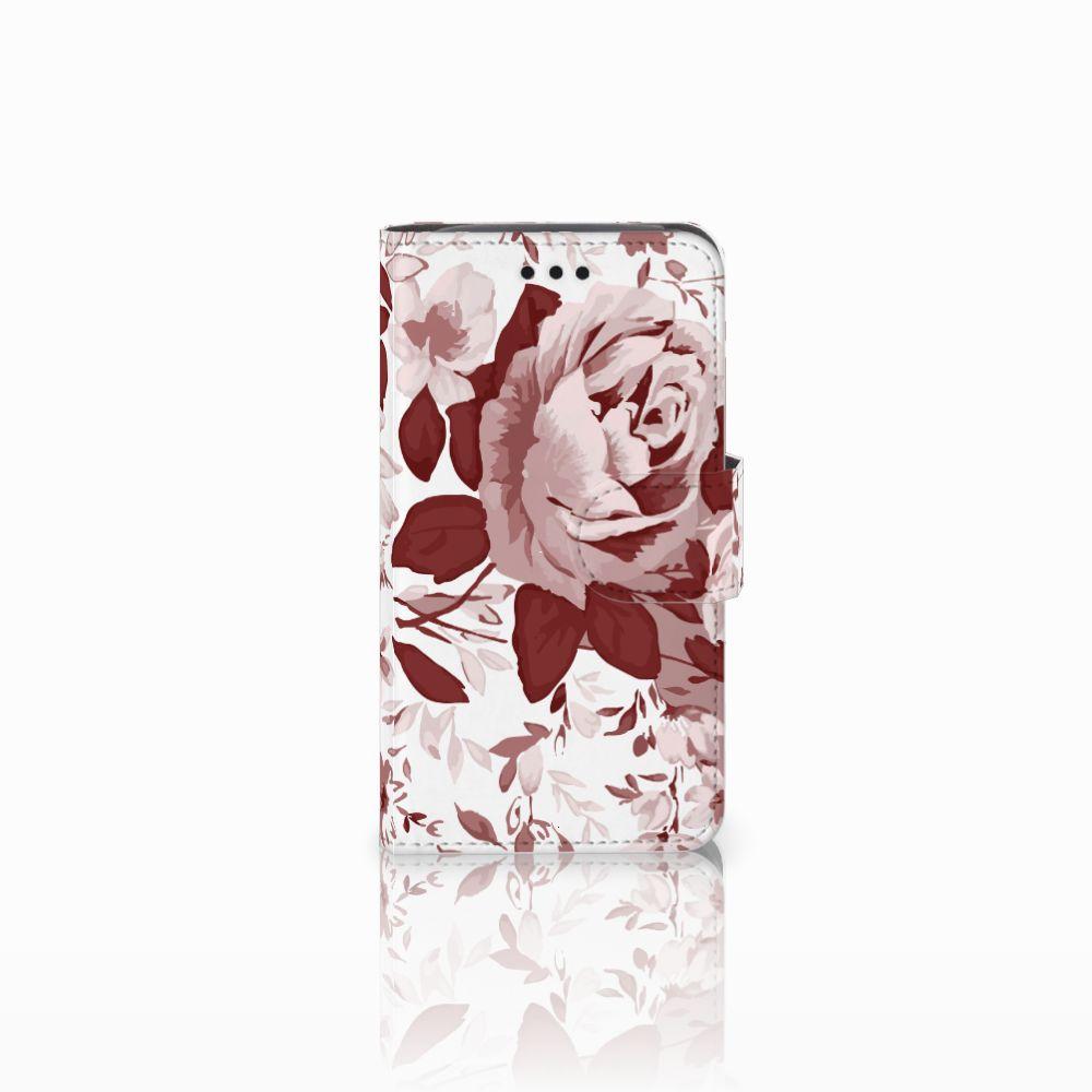 Hoesje Samsung Galaxy Core i8260 Watercolor Flowers