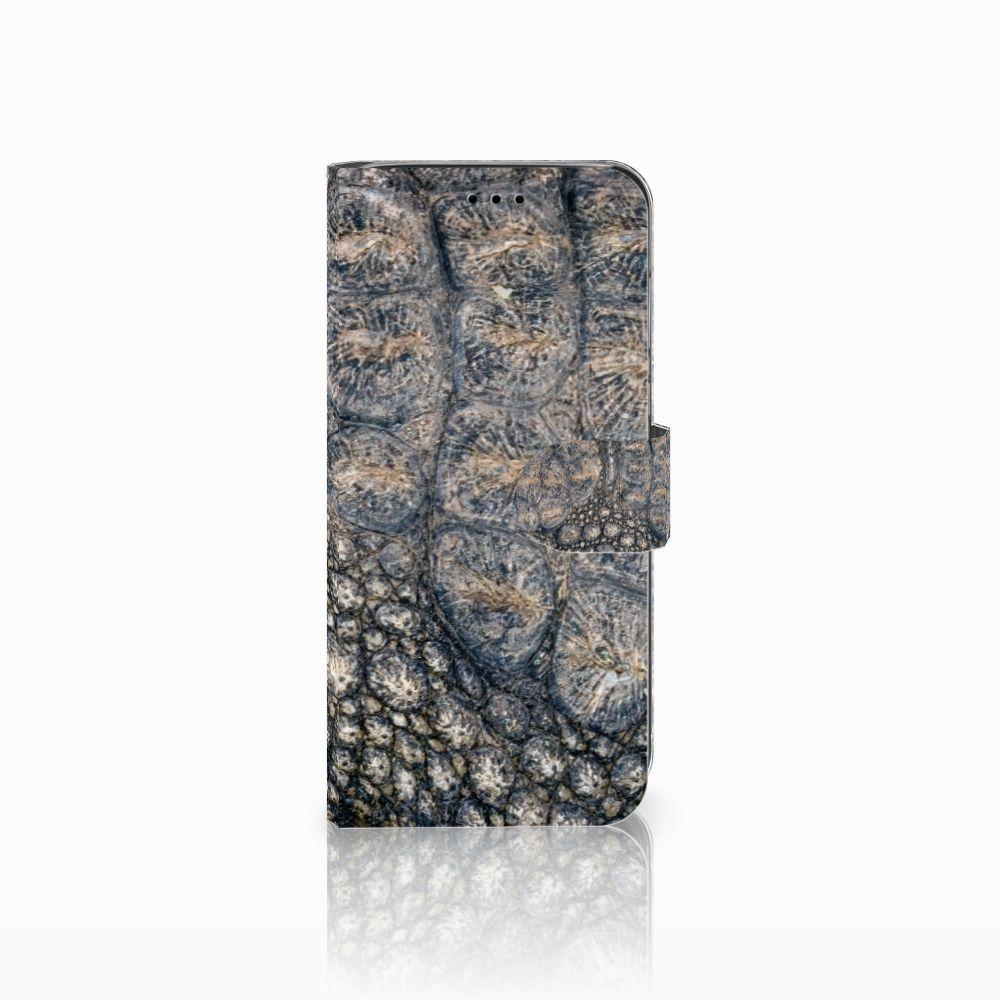 Huawei P20 Lite Uniek Boekhoesje Krokodillenprint