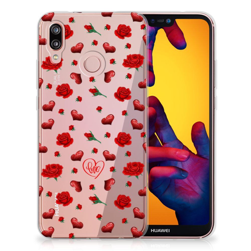 Huawei P20 Lite Telefoonhoesje met Naam Valentine