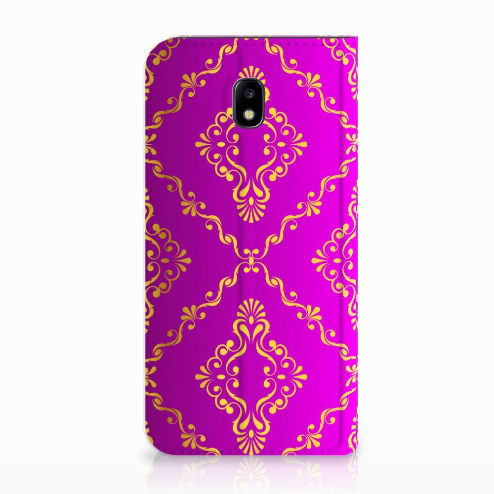 Telefoon Hoesje Samsung Galaxy J5 2017 Barok Roze
