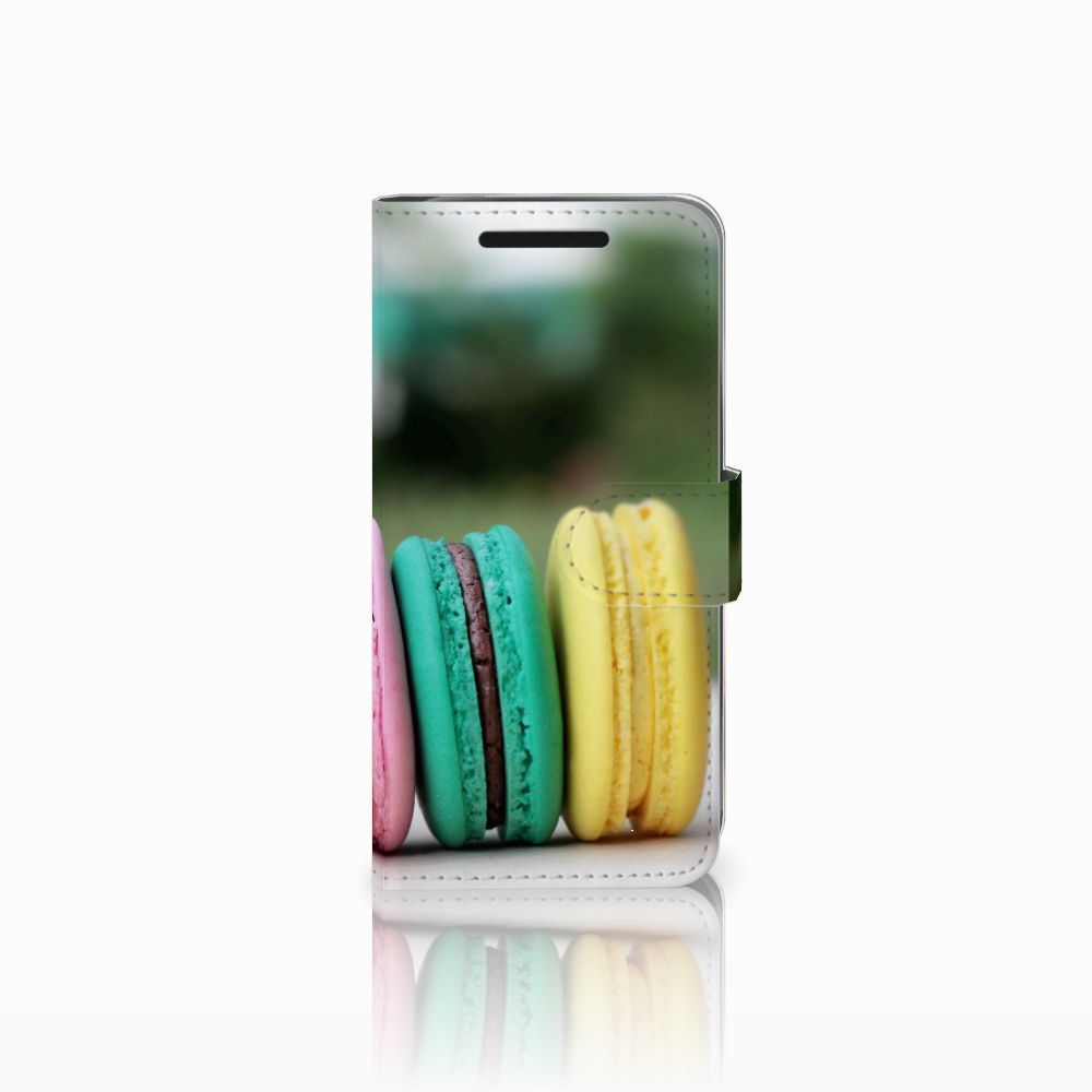 HTC One M9 Book Cover Macarons