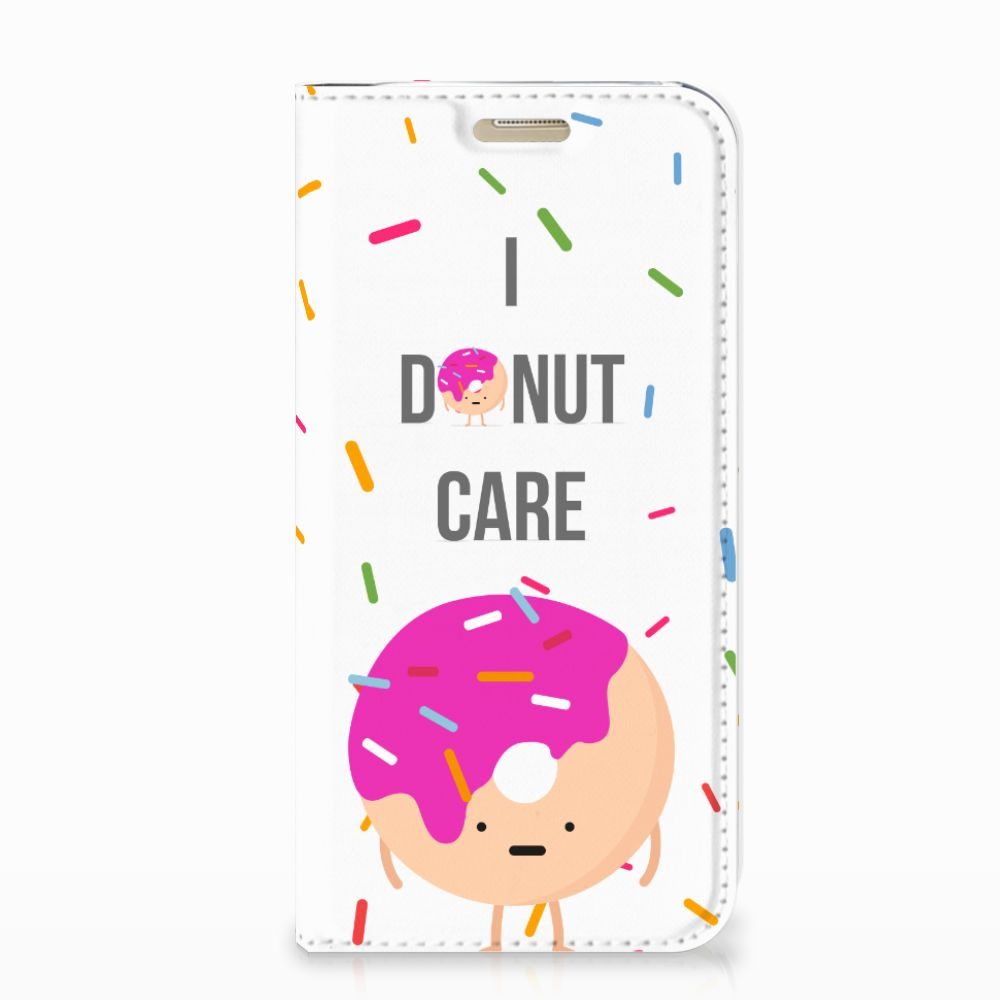 Samsung Galaxy A3 2017 Flip Style Cover Donut Roze