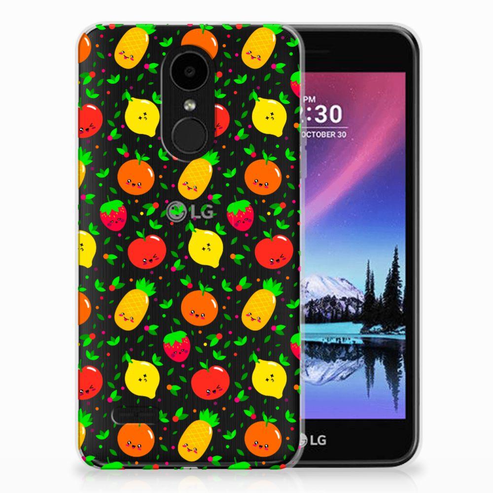 LG K4 (2017) TPU Hoesje Design Fruits