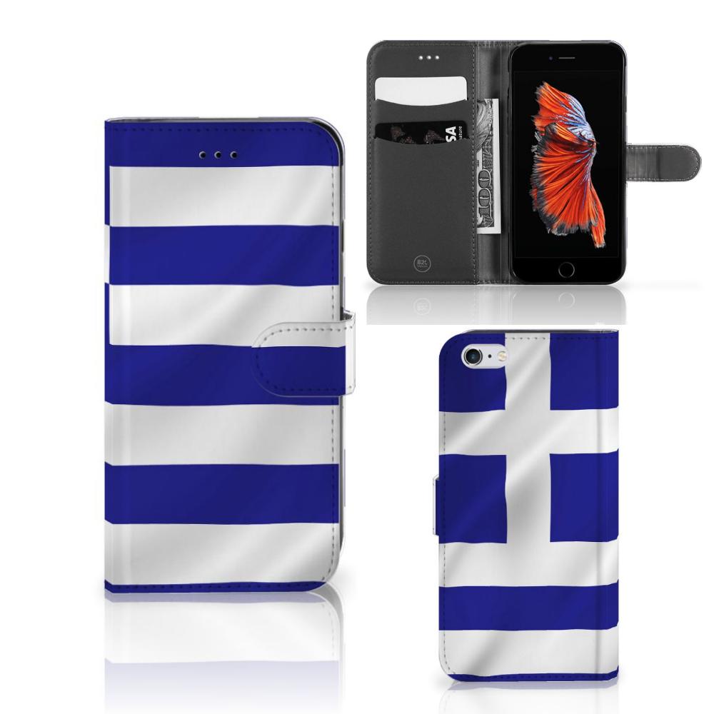 Apple iPhone 6 Plus | 6s Plus Bookstyle Case Griekenland