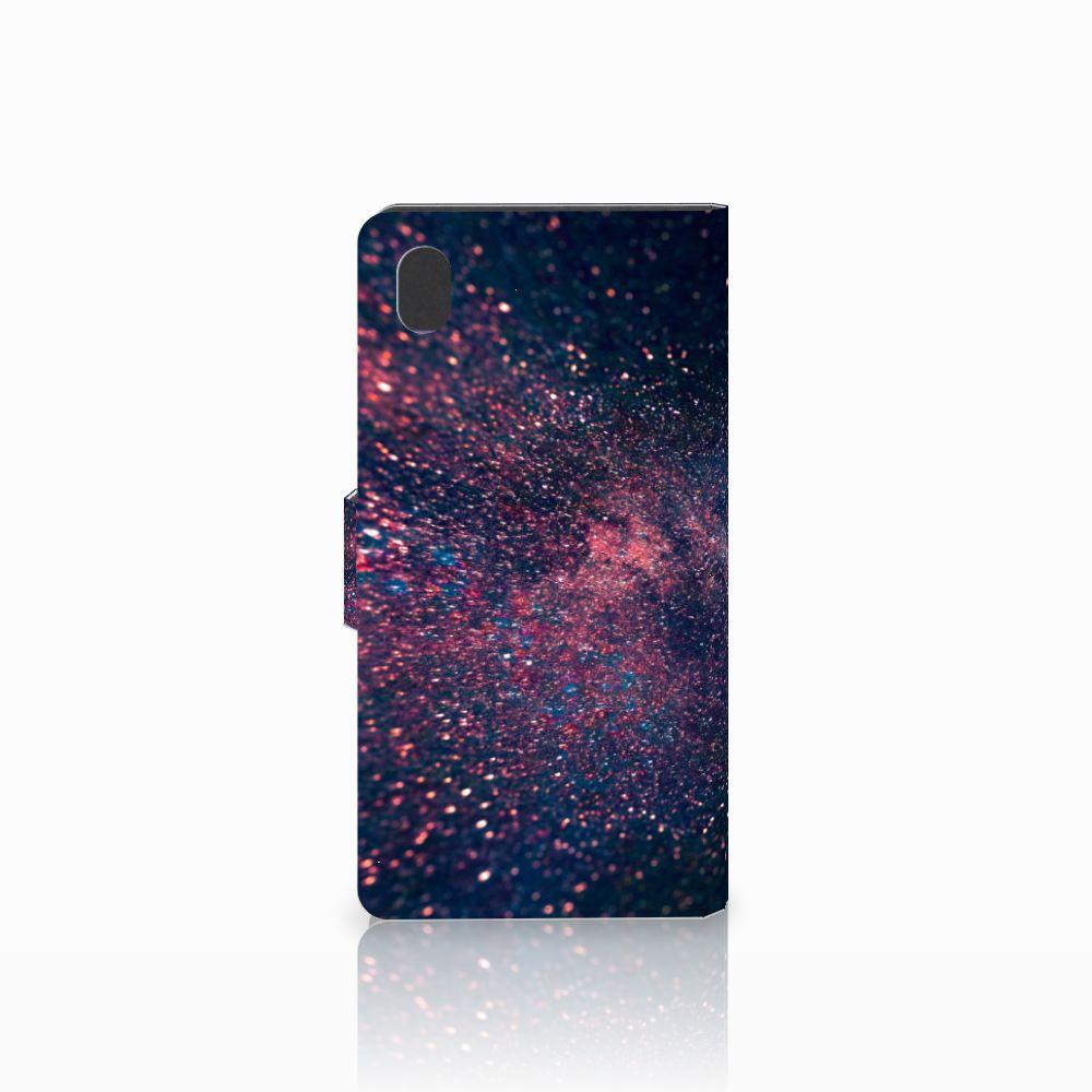 Sony Xperia M4 Aqua Bookcase Stars