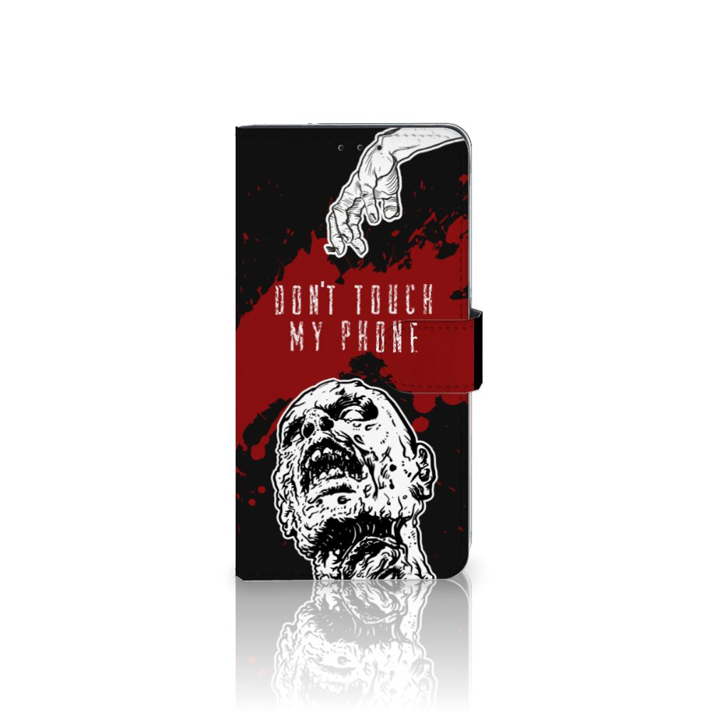 Samsung Galaxy A8 Plus (2018) Portemonnee hoesje Zombie Blood