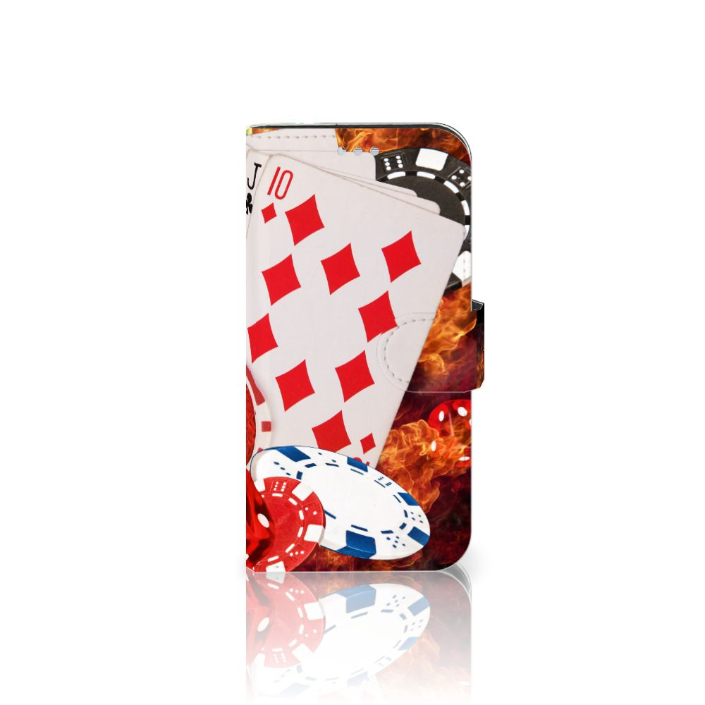 Samsung Galaxy S7 Uniek Boekhoesje Casino