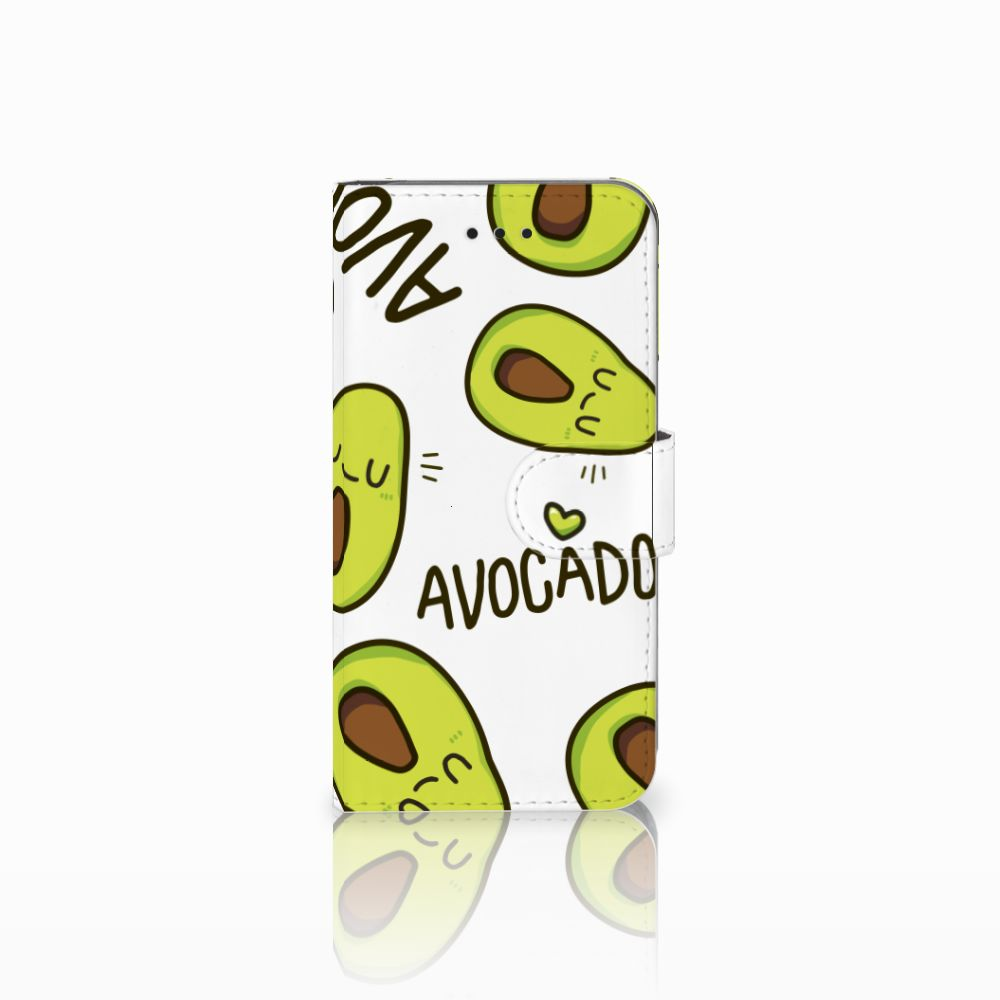 Apple iPhone X | Xs Uniek Boekhoesje Avocado Singing