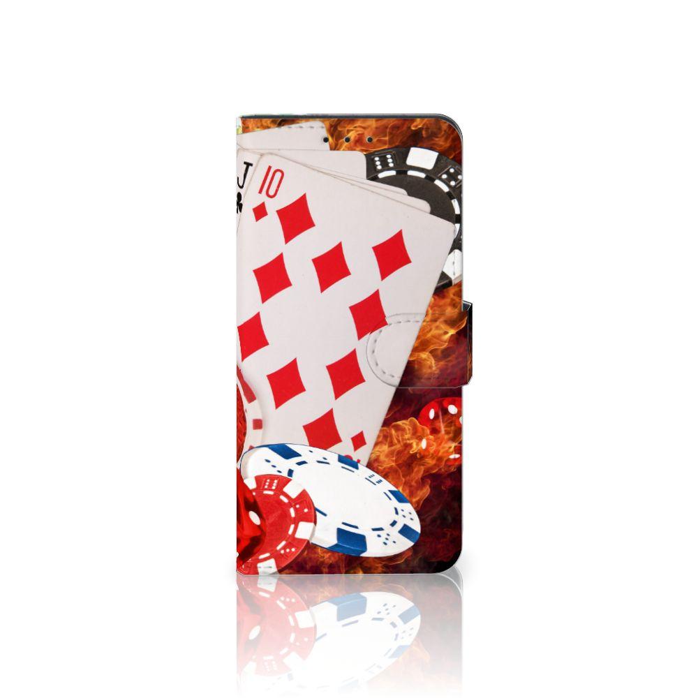 Nokia 6 Uniek Boekhoesje Casino