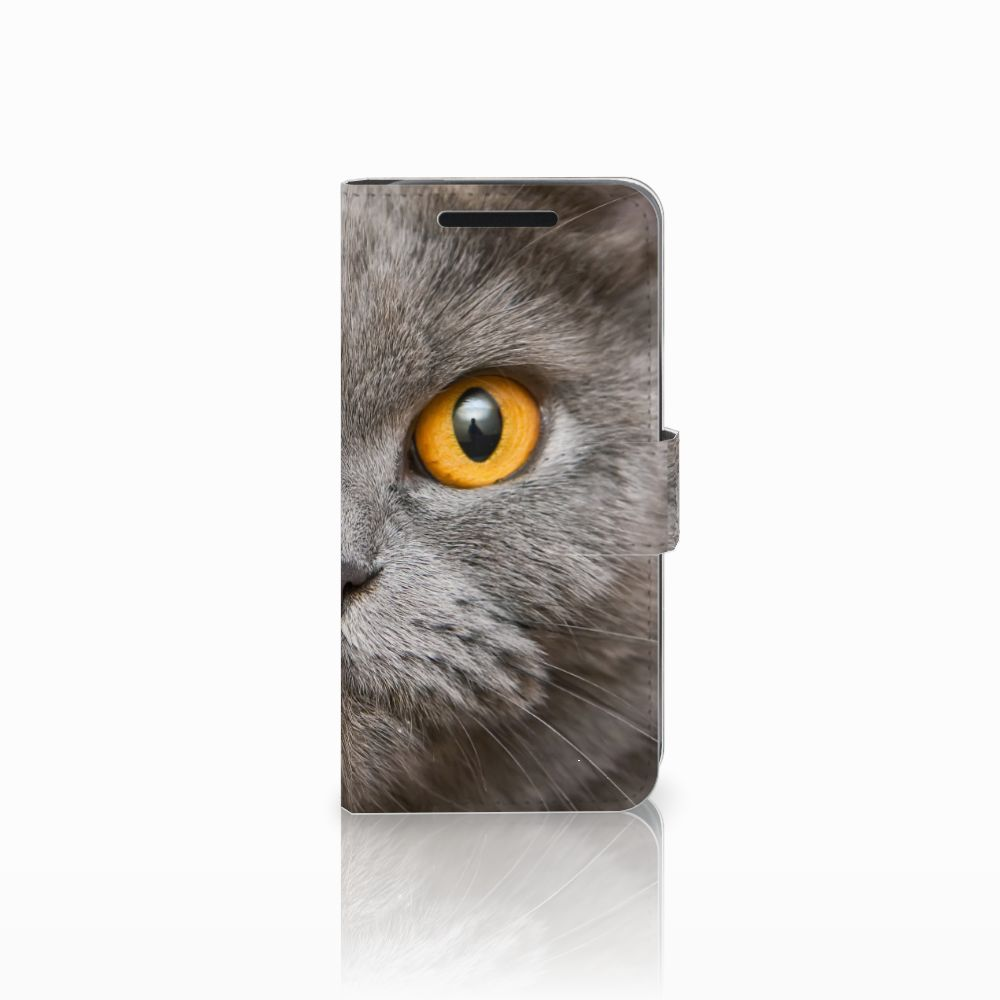 HTC One M9 Uniek Boekhoesje Britse Korthaar