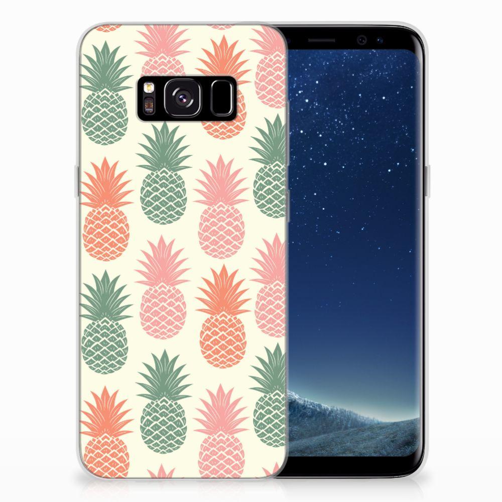 Samsung Galaxy S8 Siliconen Case Ananas