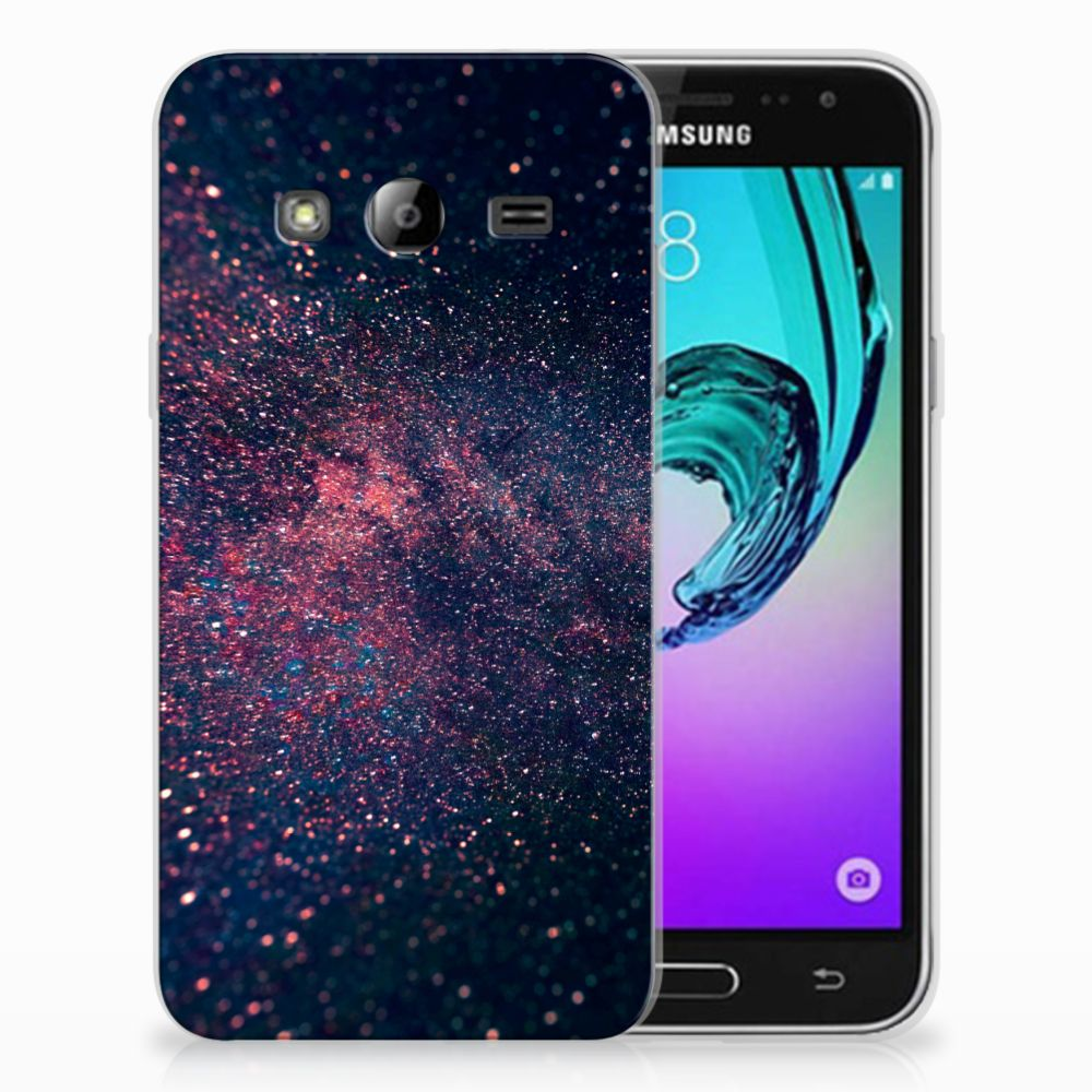 Samsung Galaxy J3 2016 TPU Hoesje Stars