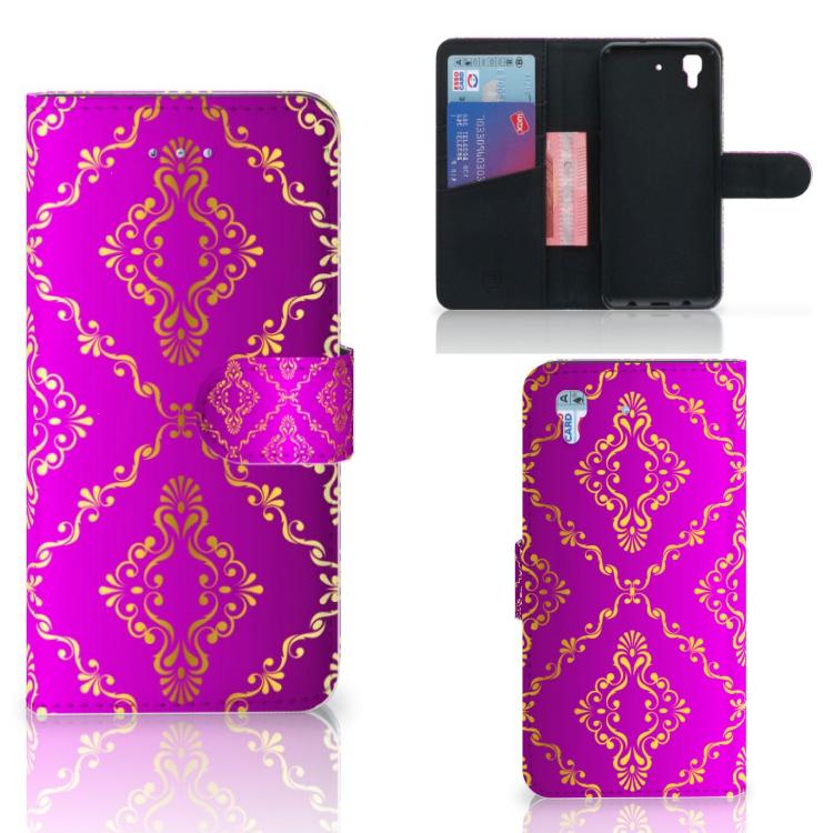 Wallet Case Honor 4A | Y6 Barok Roze
