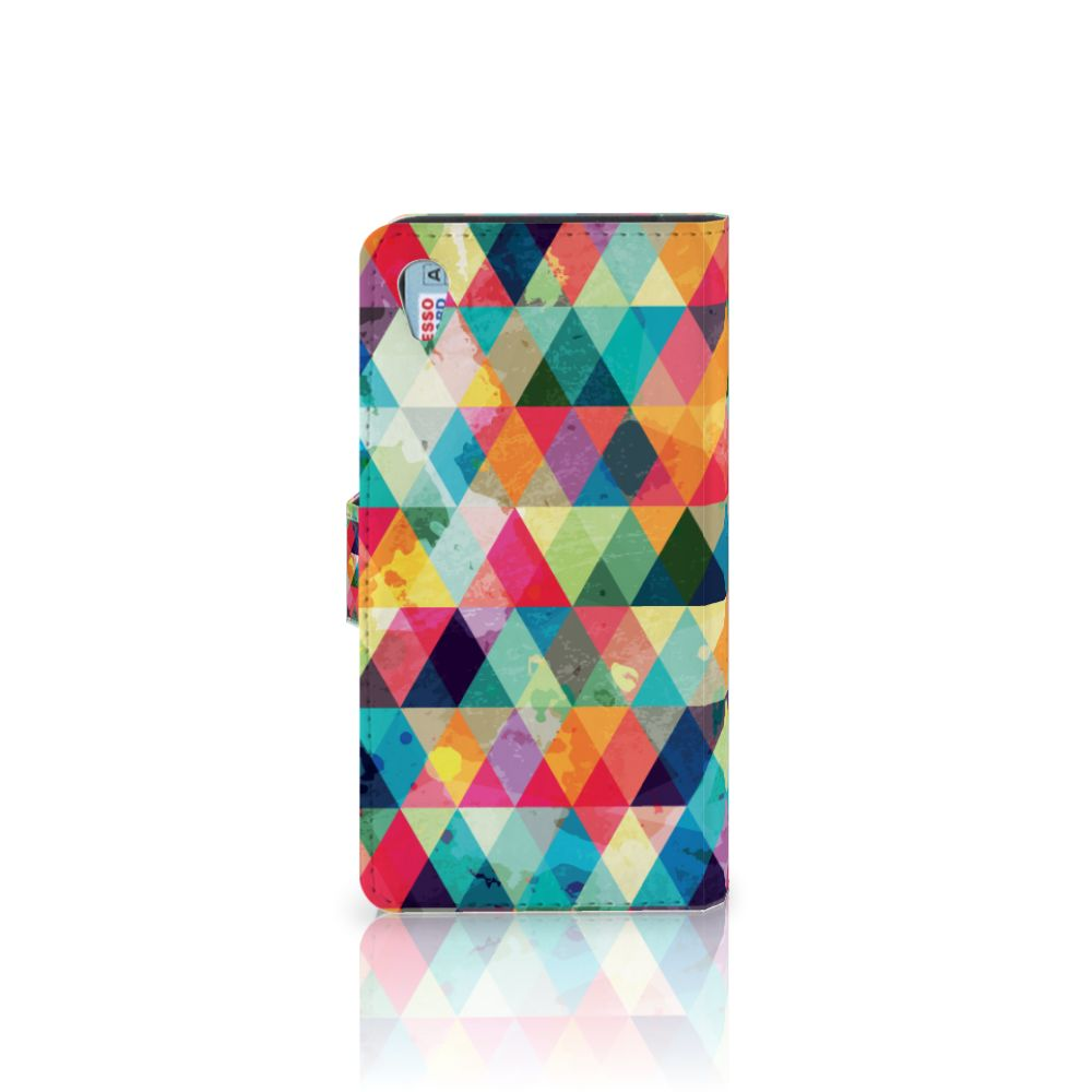 Sony Xperia Z3 Telefoon Hoesje Geruit