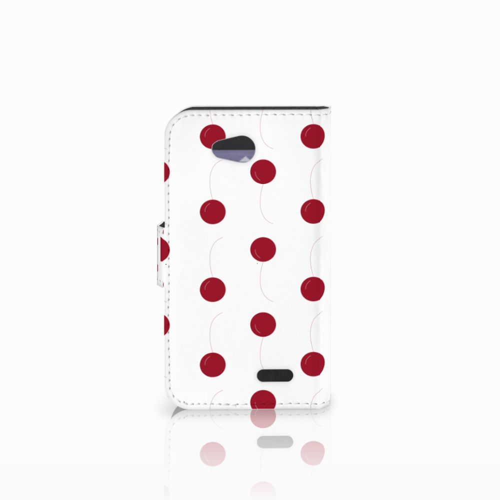 LG L90 Book Cover Cherries
