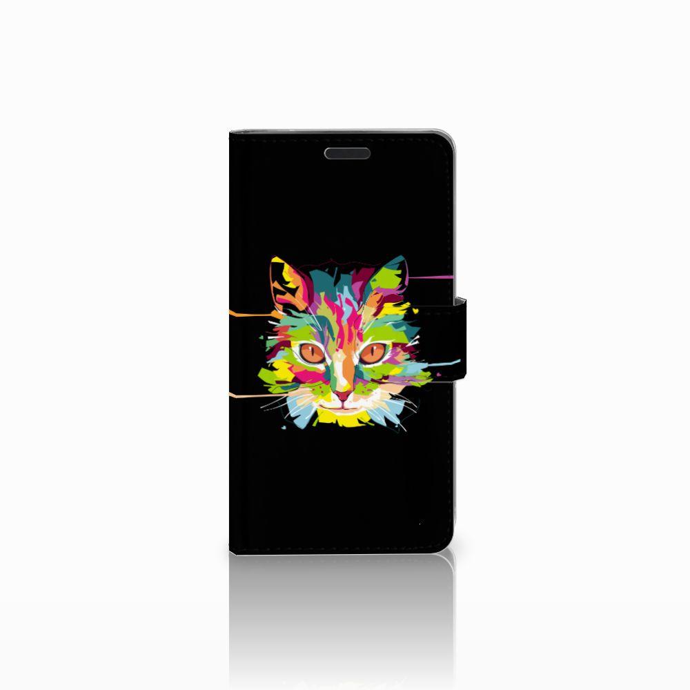 LG G3 Uniek Boekhoesje Cat Color