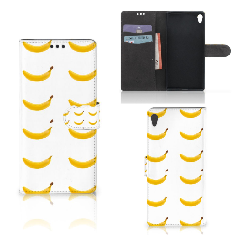Sony Xperia XA Ultra Book Cover Banana