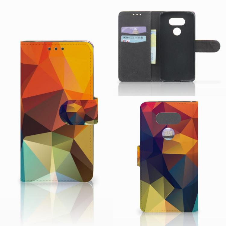 LG G5 Bookcase Polygon Color