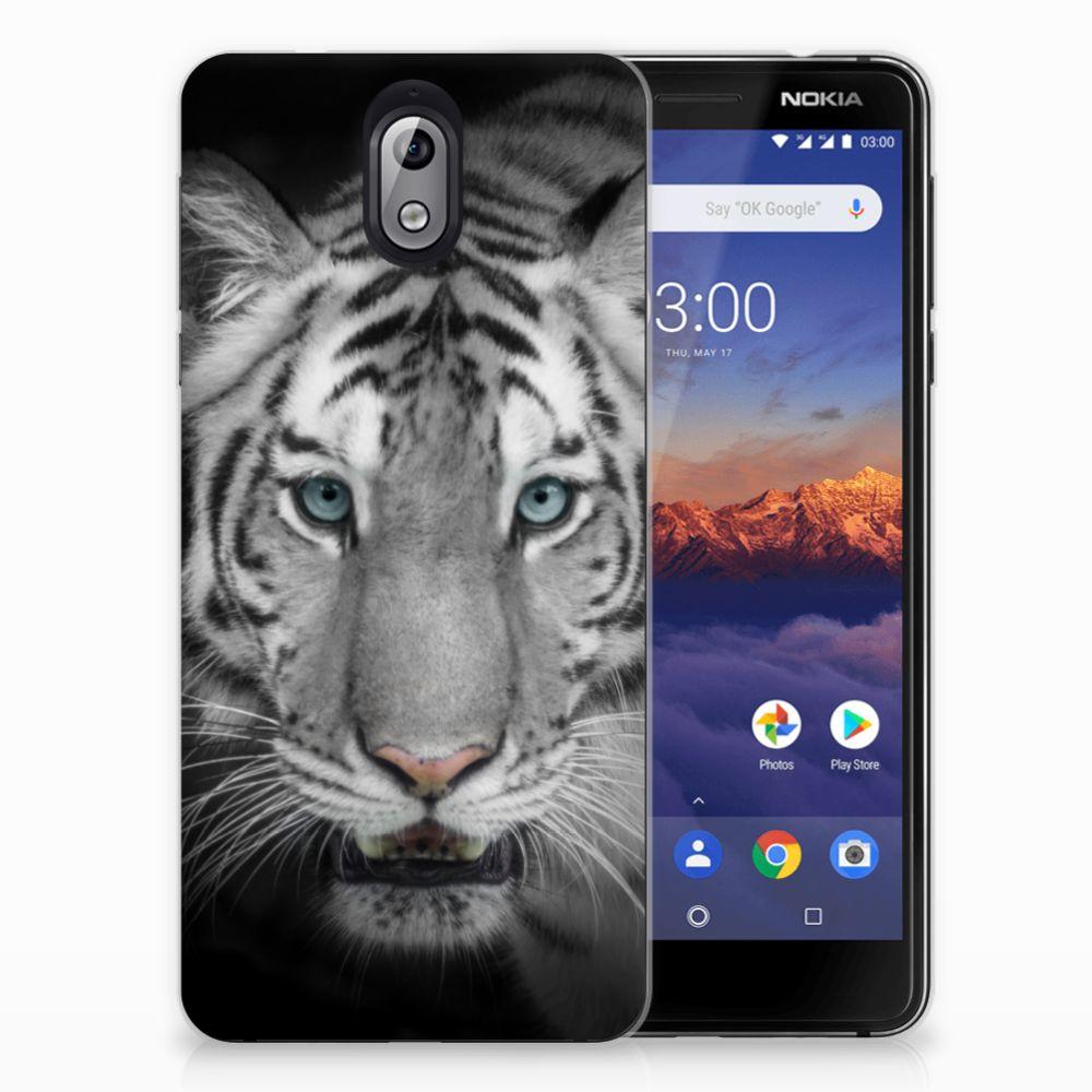 Nokia 3.1 (2018) TPU Hoesje Tijger