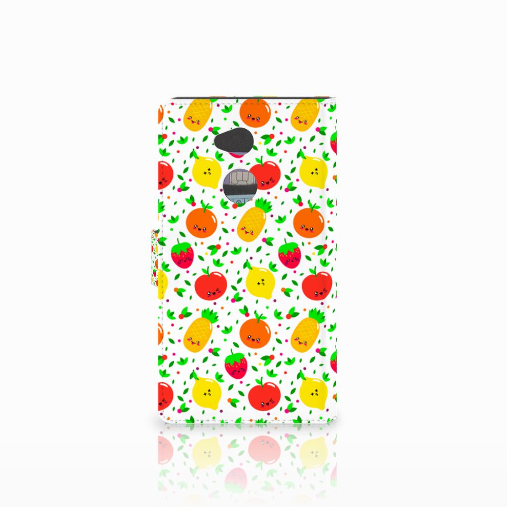 Sony Xperia XA2 Ultra Book Cover Fruits