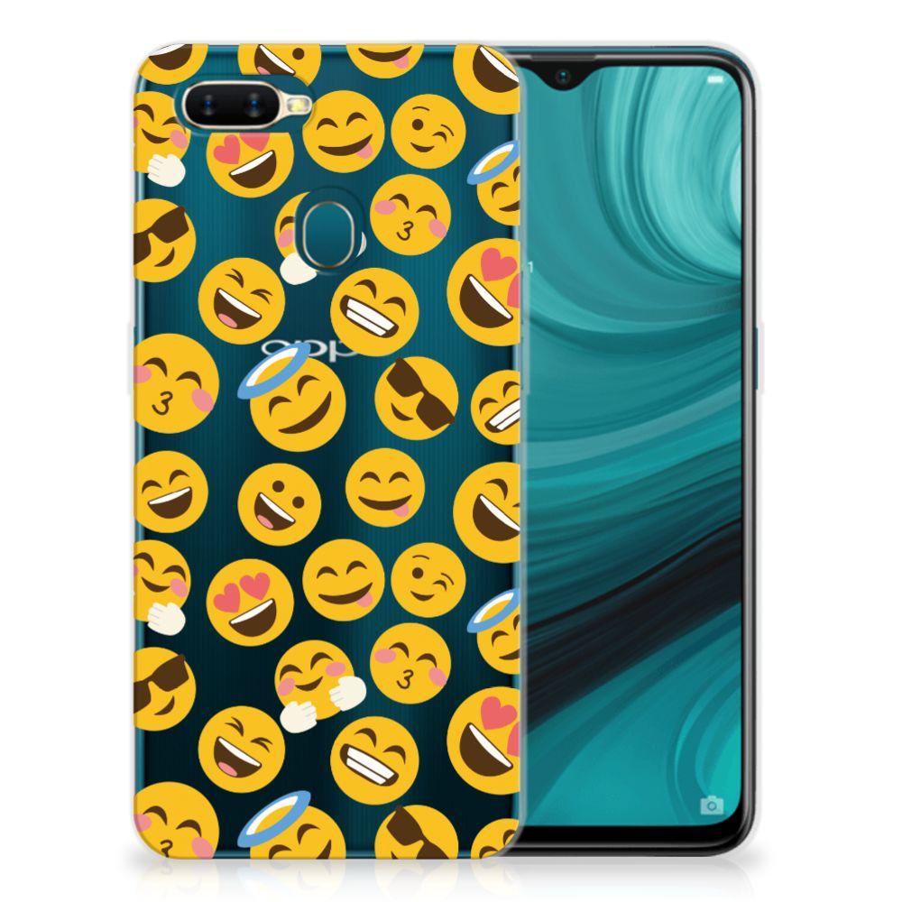 OPPO AX7 TPU bumper Emoji