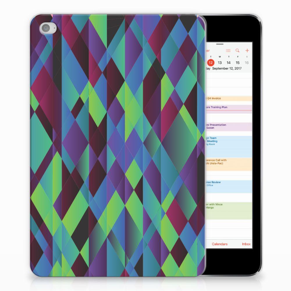 Apple iPad Mini 4   Mini 5 (2019) Back Cover Abstract Green Blue