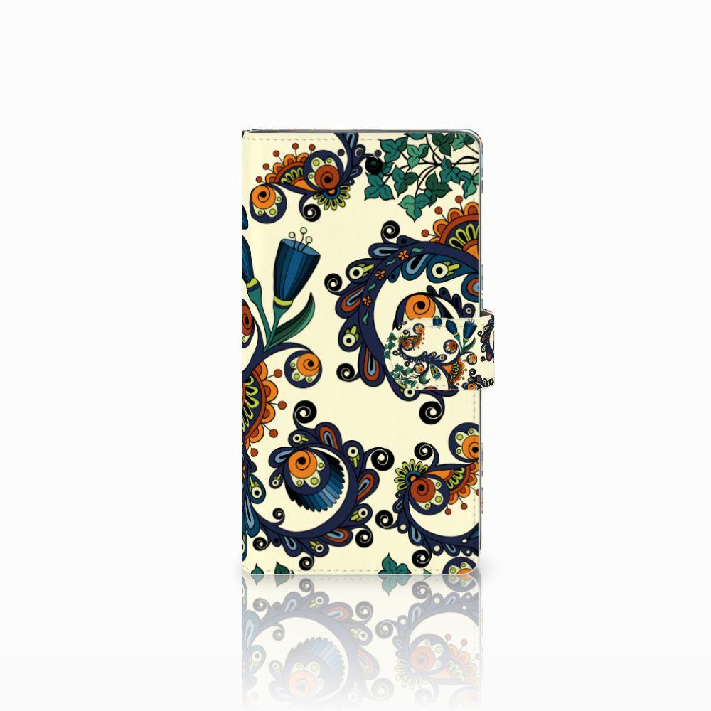 Wallet Case Sony Xperia XA2 Ultra Barok Flower