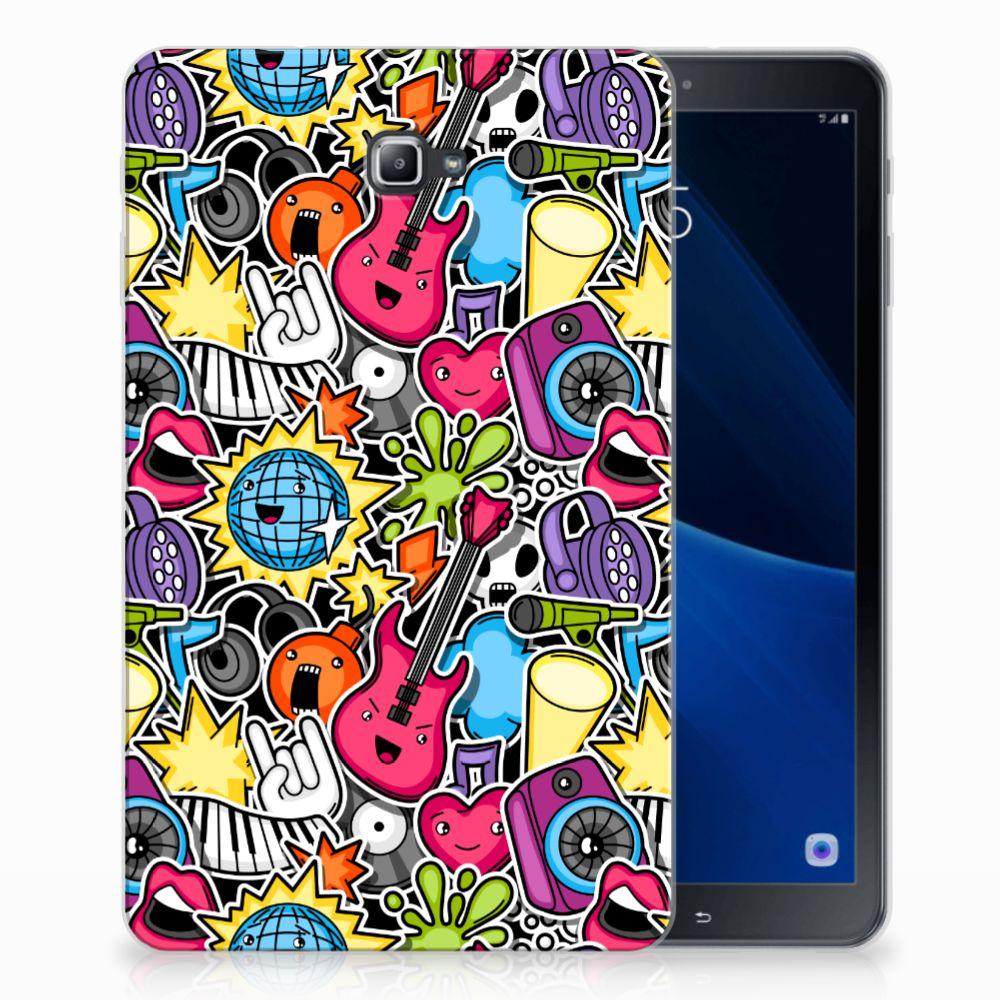 Samsung Galaxy Tab A 10.1 Uniek Tablethoesje Punk Rock