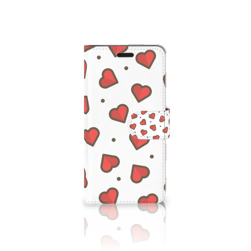 HTC 10 Boekhoesje Design Hearts