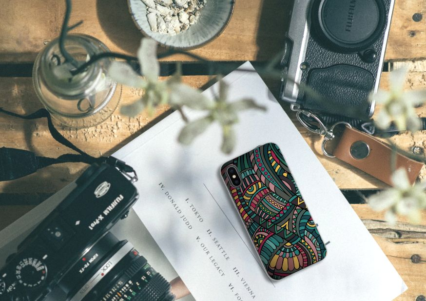 Apple iPhone X | Xs TPU bumper Aztec