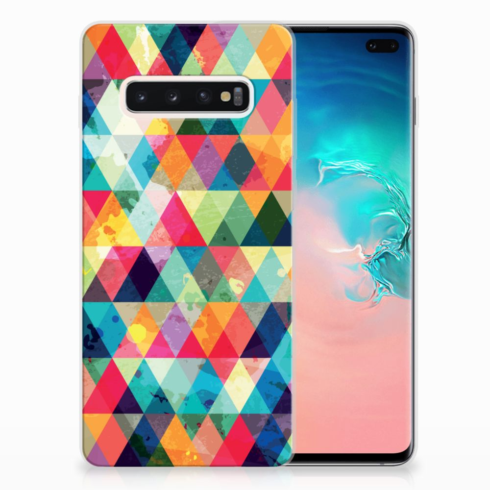 Samsung Galaxy S10 Plus TPU bumper Geruit