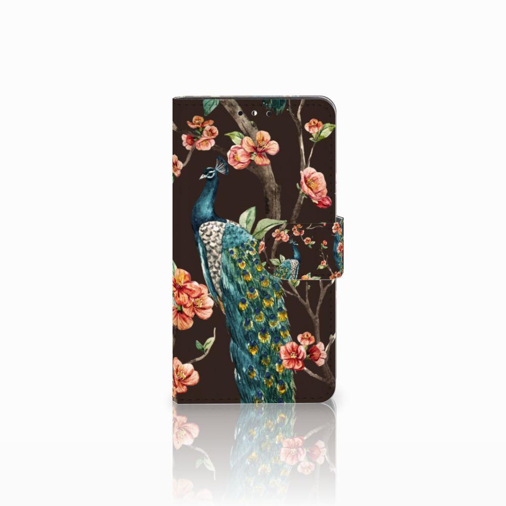 Huawei Y5 | Y6 2017 Boekhoesje Design Pauw met Bloemen