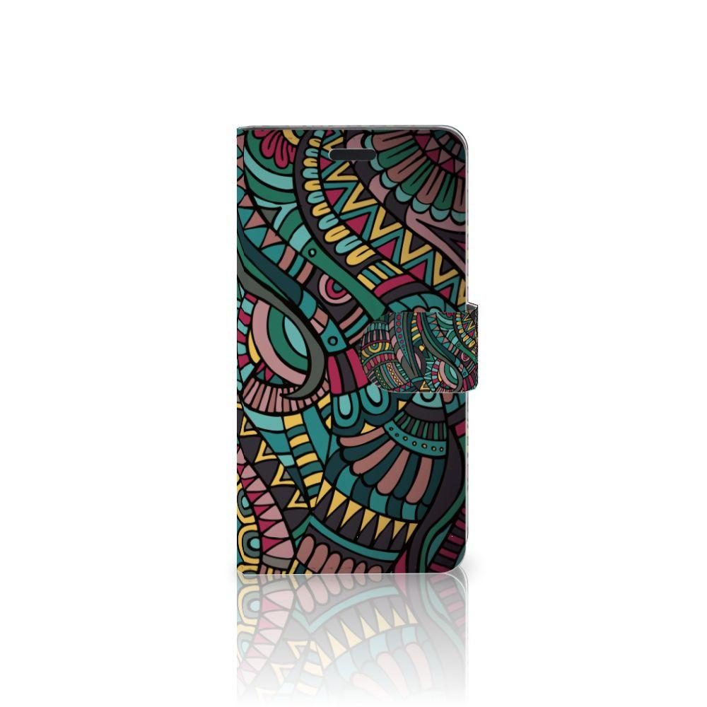 HTC 10 Boekhoesje Design Aztec