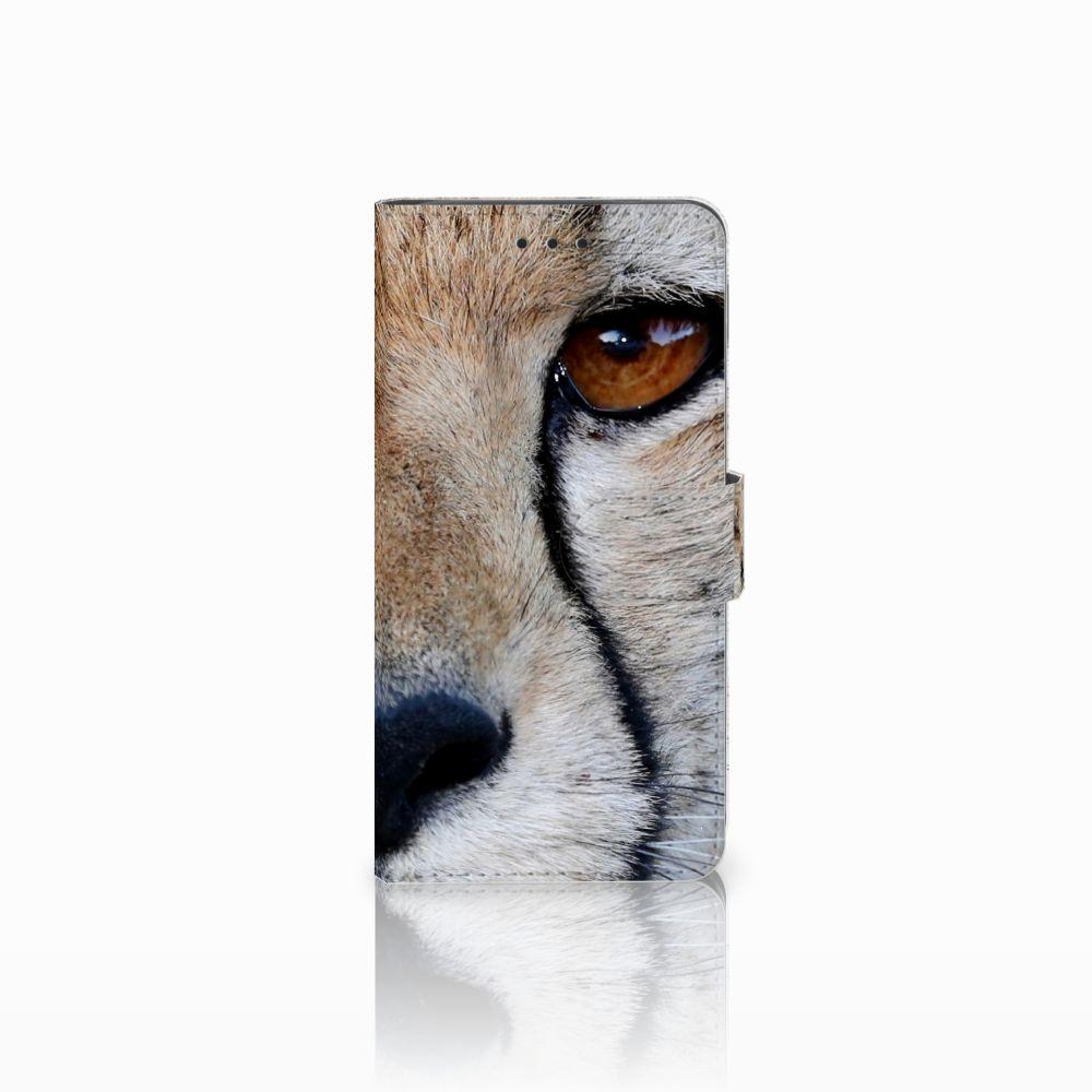 Huawei G8 Telefoonhoesje met Pasjes Cheetah