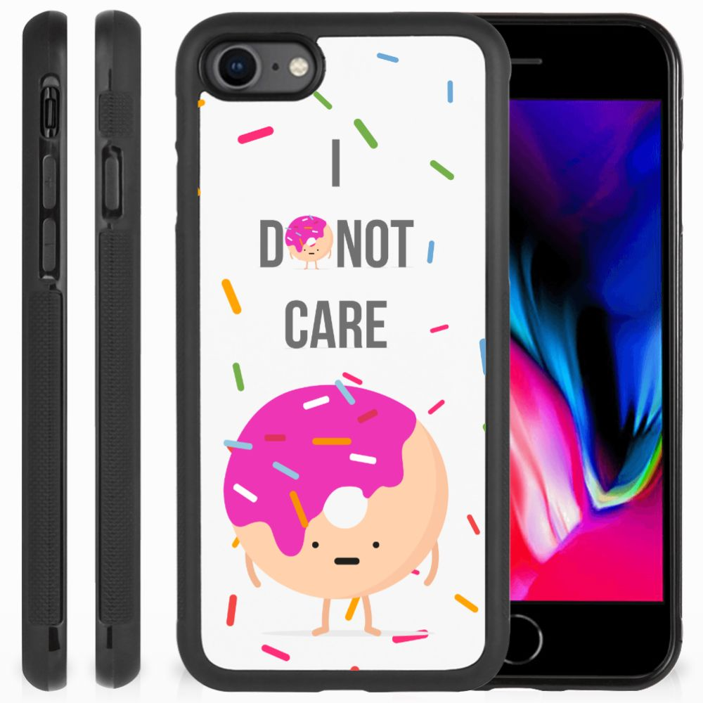 Apple iPhone 7 | 8 Silicone Case Donut Roze