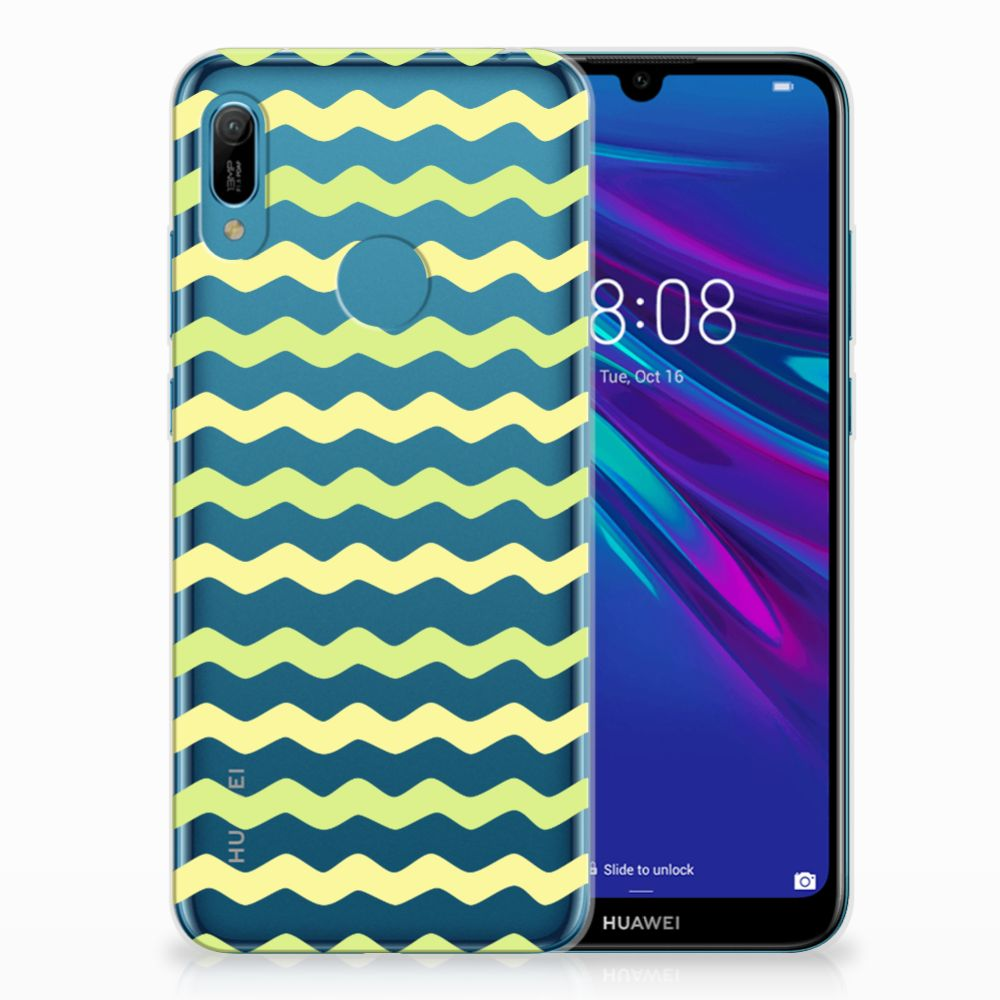 Huawei Y6 2019 | Y6 Pro 2019 TPU bumper Waves Yellow