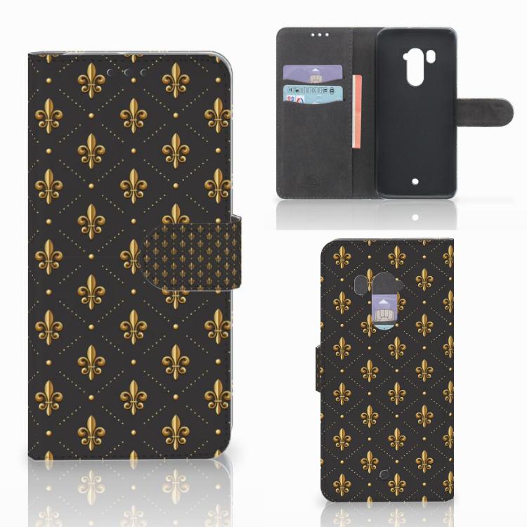 HTC U11 Plus Telefoon Hoesje Franse Lelie