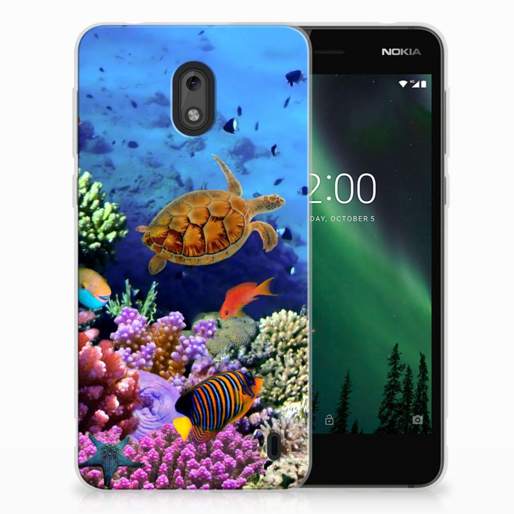 Nokia 2 TPU Hoesje Design Vissen