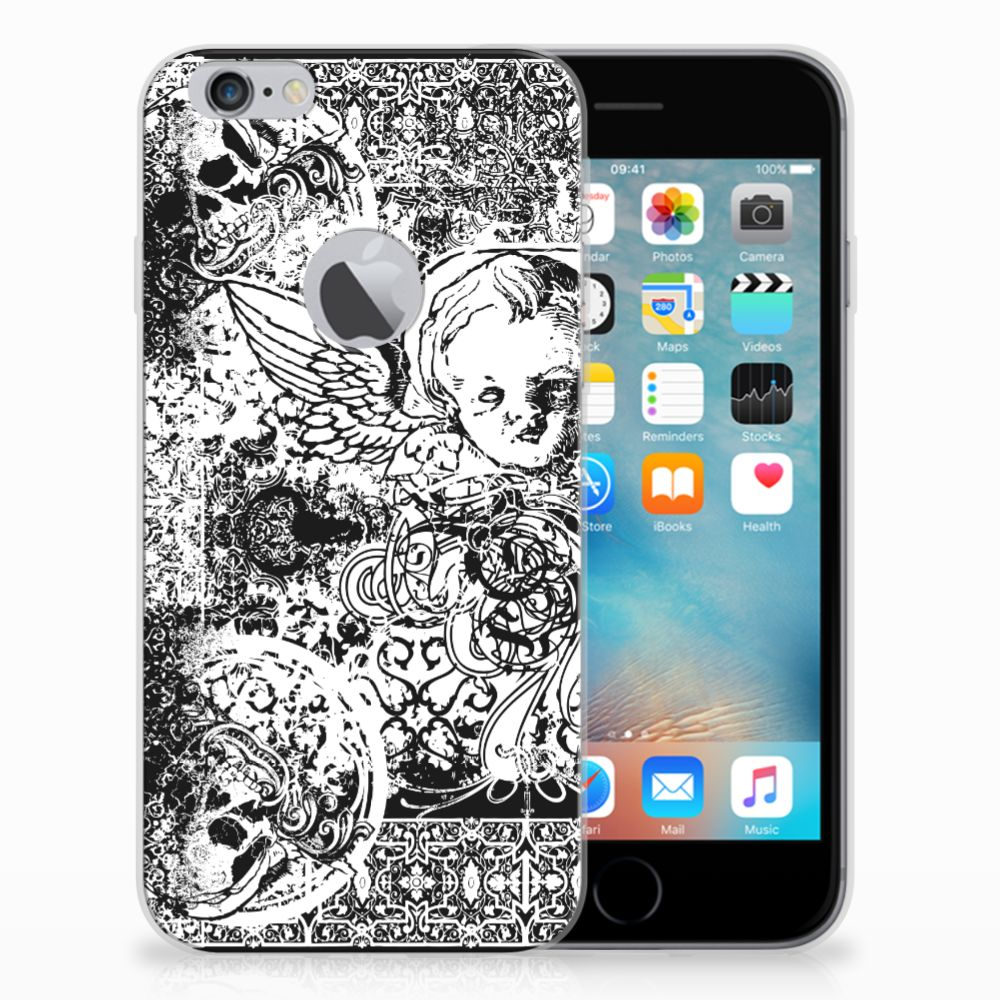 Silicone Back Case Apple iPhone 6 Plus | 6s Plus Skulls Angel