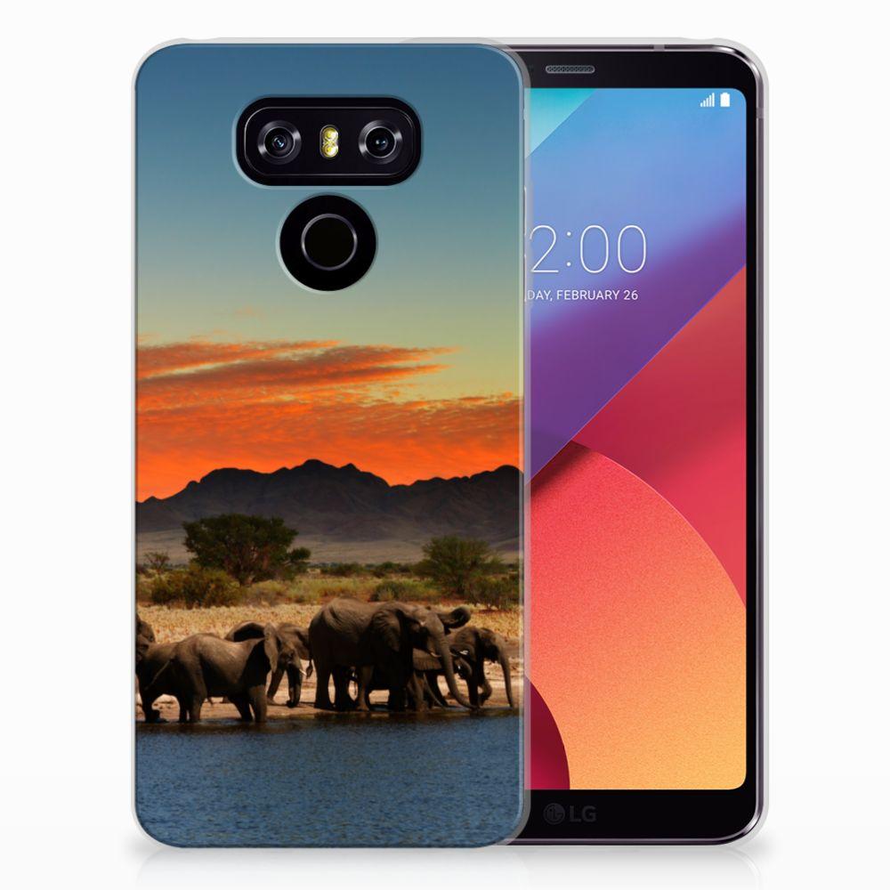 LG G6 TPU Hoesje Olifanten