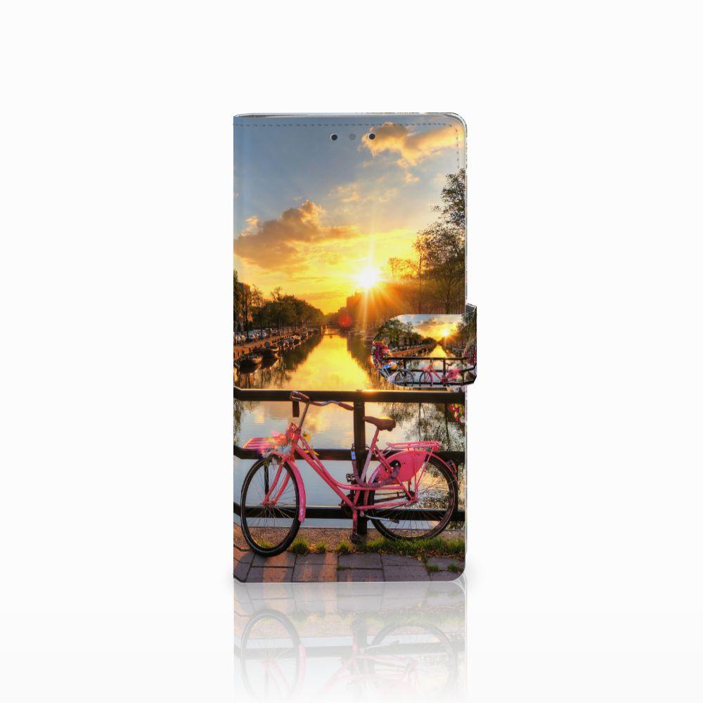 HTC U Ultra Uniek Boekhoesje Amsterdamse Grachten