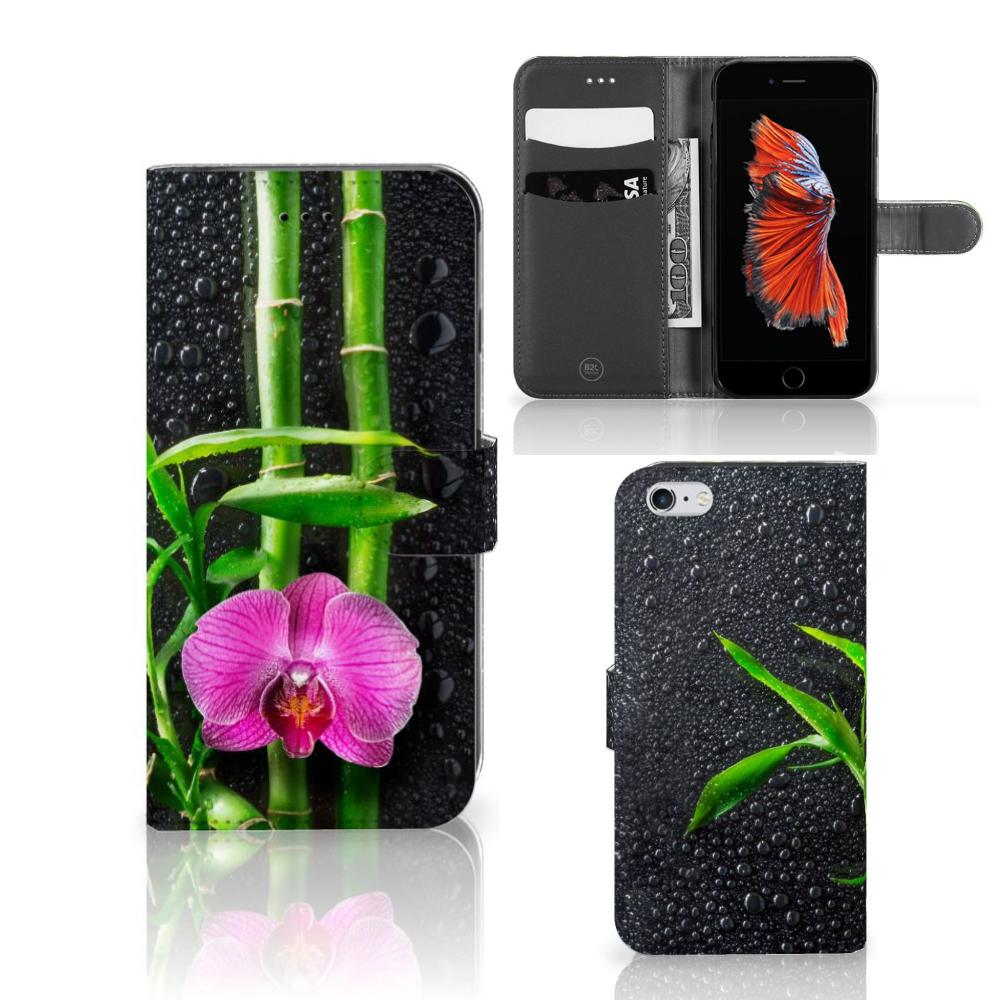 Apple iPhone 6 Plus | 6s Plus Hoesje Orchidee