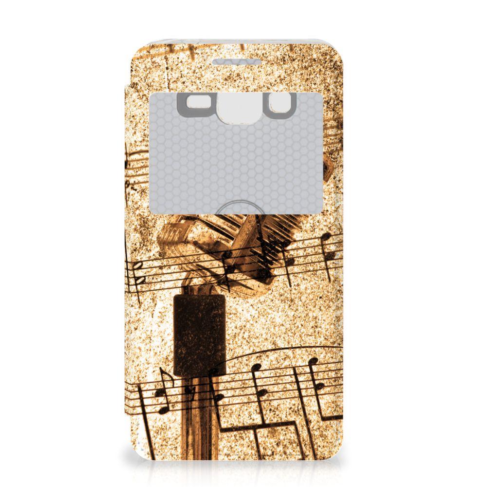 Samsung Galaxy Grand Prime Telefoonhoesje met foto Bladmuziek