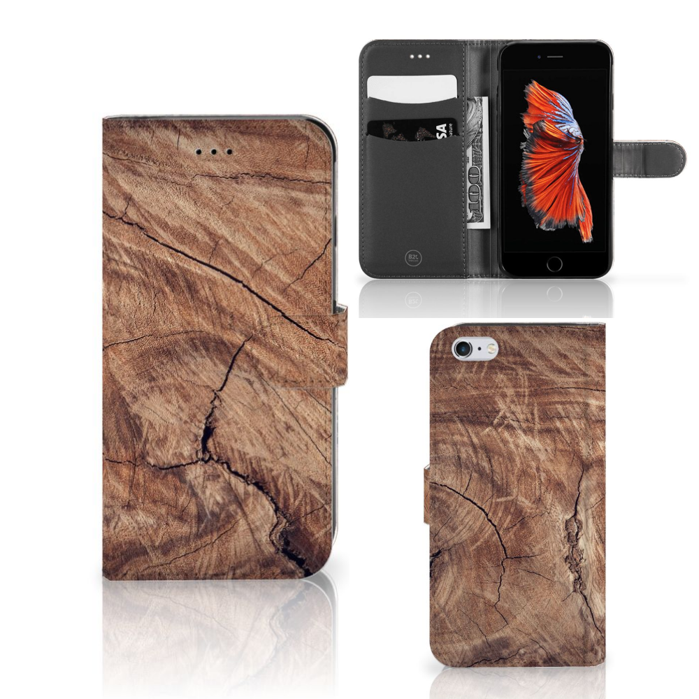Apple iPhone 6 Plus | 6s Plus Book Style Case Tree Trunk