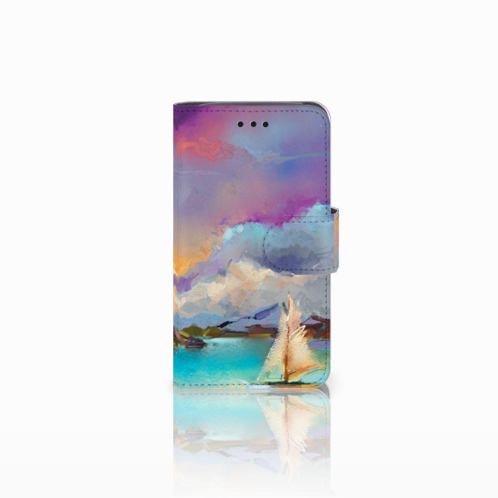 Samsung Galaxy Core i8260 Uniek Boekhoesje Boat