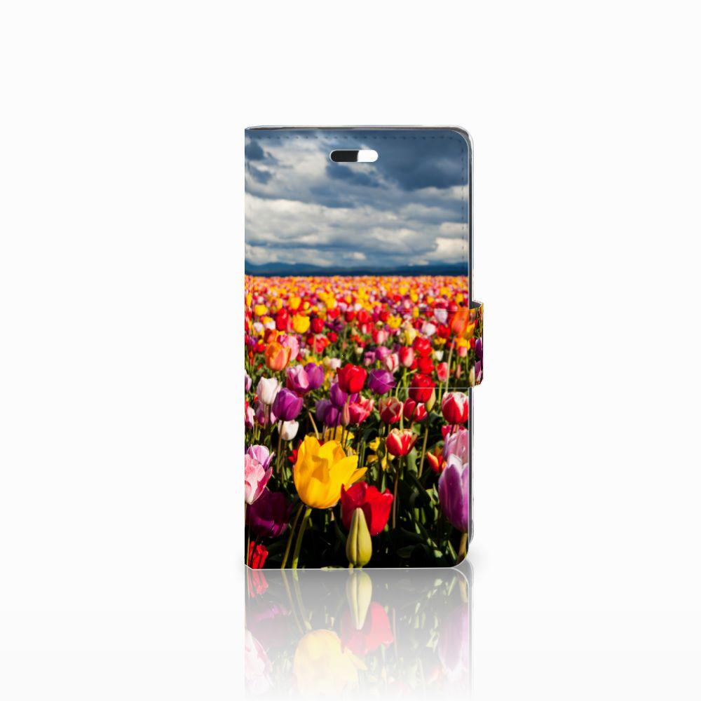 Huawei Y635 Uniek Boekhoesje Tulpen