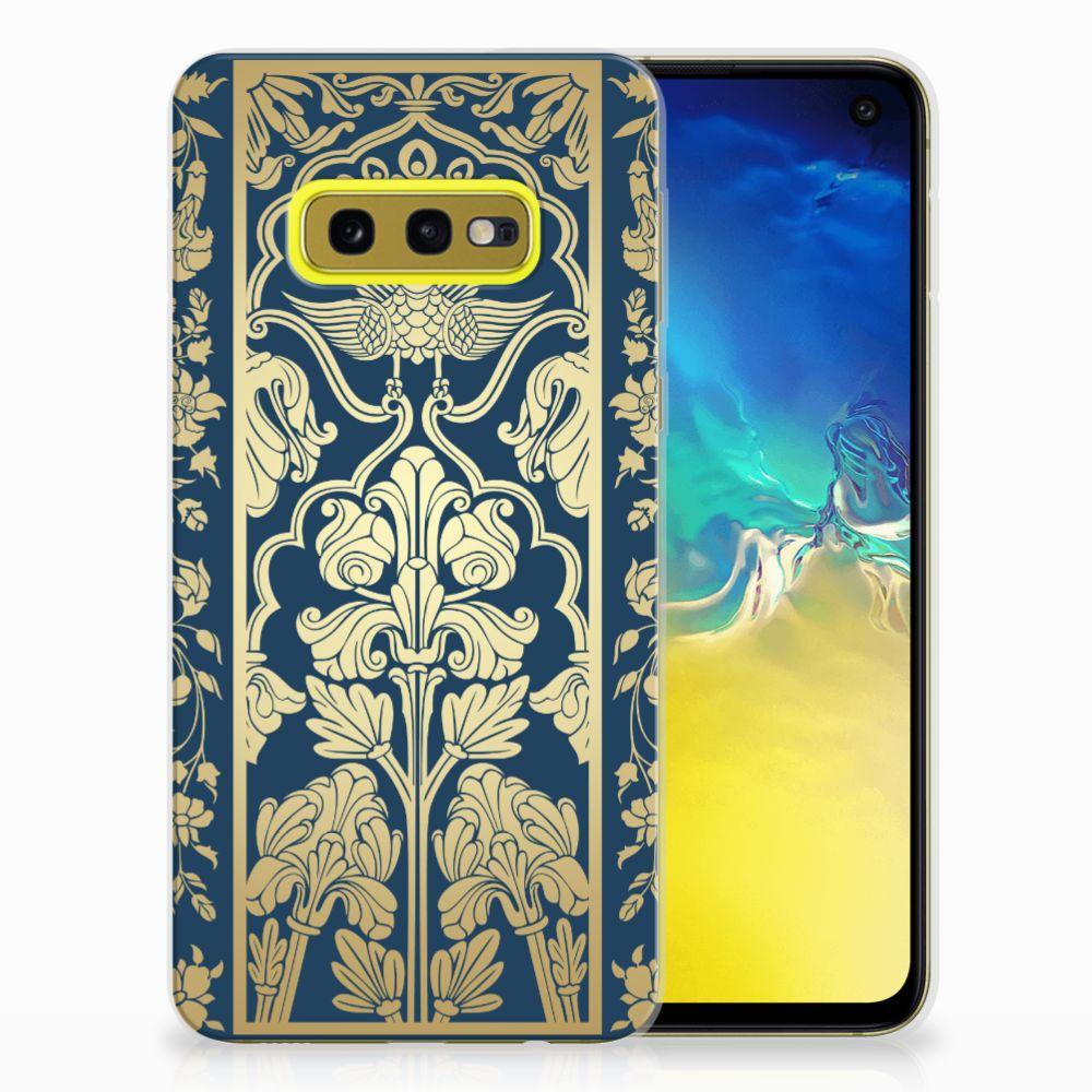 Samsung Galaxy S10e TPU Case Golden Flowers