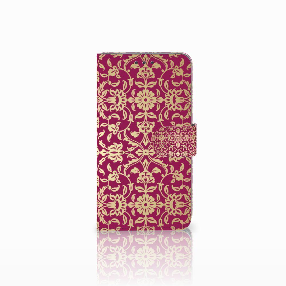 Wallet Case Motorola Moto E4 Plus Barok Pink