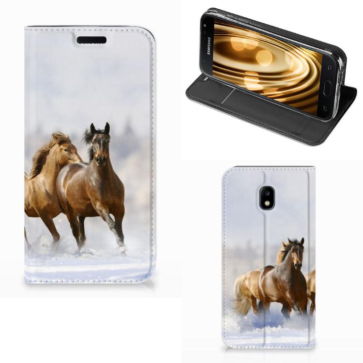 Samsung Galaxy J3 2017 Hoesje maken Paarden