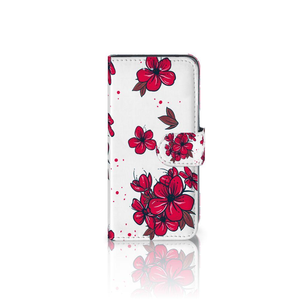 Samsung Galaxy A5 2016 Boekhoesje Design Blossom Red